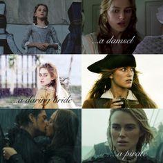 Elizabeth Swan --> Elizabeth Turner