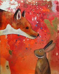 """""""Hello, Fox"""" by Joelle Felyce Geisler (11/15/14)"""