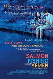 """Salmon Fishing in the Yemen """"a charming little romantic drama sold by some strong central performances"""" pretty much covers it. A good solid B"""