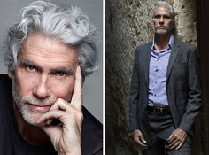 We collected a list of handsome guys over or just under 50 years old that might just redefine the concept of older men. Older Mens Hairstyles, Haircuts For Men, 50 Year Old Men, Old Man Fashion, Nick Wooster, Men Over 50, Handsome Older Men, Hommes Sexy, Mature Men