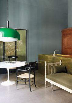 Green living room fr