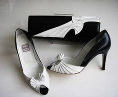 Renata Designer Navy White Ptoe Shoes Matching Bag Size3 5 For Your Eyes Only