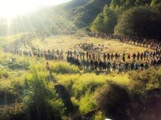 I need to go to said rainbow gathering, looks amazing.