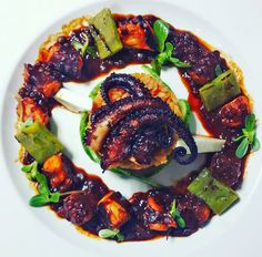 Gourmet Dining Overlooking Médano Beach + Recipe: Grilled Octopus with Drunken Sauce | Cabo Blog CaboVillas.com #travel #food #dining #Mexico #restaurants #CaboSanLucas #Cabo #LosCabos #Baja #recipe #cooking #gourmet #cuisine