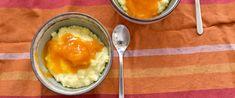 Krémes, lágy és egészségesebb, mint a tejberizs: így készül a kölespuding - Receptek | SóBors Vinaigrette, Quinoa, Panna Cotta, Ice Cream, Pudding, Sweets, Desserts, Food, Bulgur