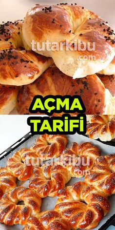 Açma Tarifi - Well Tutorial and Ideas Easy Sandwich Recipes, Easy Rice Recipes, Mug Recipes, Donut Recipes, Cookbook Recipes, Pork Recipes, Baby Food Recipes, Healthy Dinner Recipes, Vegetarian Recipes