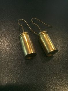 Are you a tough chick? These bullet shell earrings are perfect for you! Created by Erra Creations, an Avant-Garde Art & Craft Show Vendor!