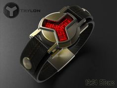 "A watch inspired by ""flux capacitor"" from DeLorean time machine, yes, it's a fictional automobile-based time travel device from ""Back to the future"" trilogy. Modern Watches, Stylish Watches, Luxury Watches, Cool Watches, Watches For Men, Unique Watches, Delorean Time Machine, The Time Machine, Nightwing Cosplay"