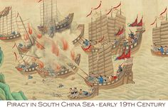 Piracy-in-the-South-China-Sea,-early-19th-Century