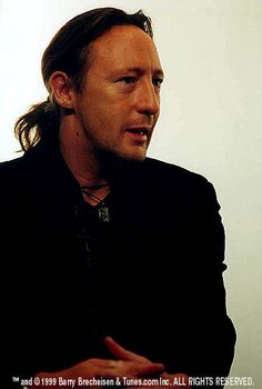 Julian Lennon-looking like his Dad here. How very difficult for a male to be the son of a famous father.