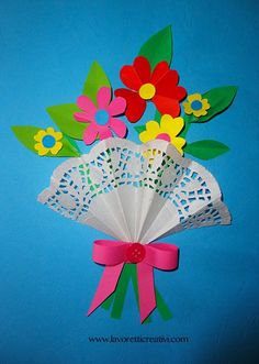 - Best DIY and Crafts Ideas Easy Crafts, Diy And Crafts, Arts And Crafts, Paper Crafts, Toddler Crafts, Preschool Crafts, Crafts For Kids, Classroom Crafts, Flowers For Mom