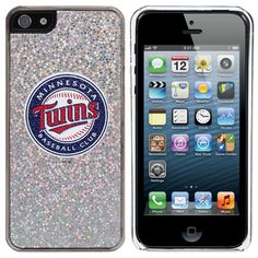 Minnesota Twins iPhone 5/5s Bling Thinshield Snap-On Case – Silver - $17.99