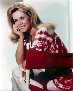 """Elizabeth Victoria Montgomery - Actress. best remembered for her leading role as Samantha, the beautiful witch who cast spells by twitching her nose on the top-rated ABC Sitcom """"Bewitched"""" (1964-1972). Montgomery was born in Hollywood, California in April of 1933, the daughter of actress Elizabeth Allen Montgomery and actor-director Robert Montgomery."""