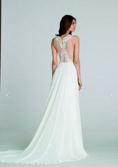 Designer: Tara Keely by Lazaro Style #: 2557 Available at Bliss Bridal in Wisconsin www.blissbridalonline.com