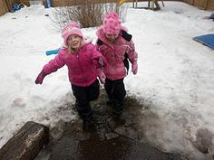 Snow/Slush Puddles!