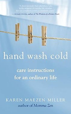 Hand Wash Cold Care Instructions for an Ordinary Life *** Amazon most trusted e-retailer  #BuddhismBooks