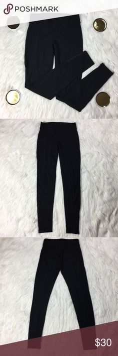 """•• CAbi Pants • Style #999 Legging Zipper Ankles No longer produced CAbi leggings in excellent condition. These run true to size in my opinion. The larger waist band makes them very comfortable and flattering to many body shapes. These are perfect for a day on the down or even a night out.  Measurements(approx.) Inseam: 30"""" Waist: 13.5"""" (LLR4-0364) CAbi Pants Leggings"""