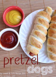 Pretzel Dogs RECIPE - landeelu.com