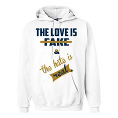 Jordan 5 Dunk From Above White Hoodie (Love Is Fake)