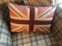 A Stuart Hillard pattern as a cushion