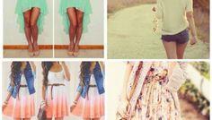 Летние наряды для женщин 2015