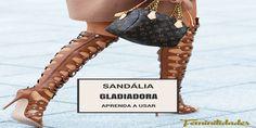 Sandália gladiadora pode ser um ótimo investimento para o verão de 2016