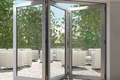 new concept e4ed3 2ced6 7 Best The Schuco AS70FD bifolding door images | Folding ...