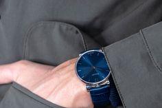 Don't miss a minute with our luxury watches Bracelets Bleus, Men Looks, Bleu Marine, Luxury Watches, Parisian, Men Dress, Watches For Men, Fashion Accessories, Mens Fashion