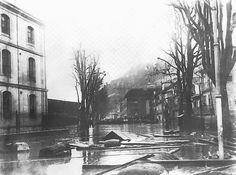 Nas duas primeiras imagens que se seguem, vemos o efeito da grande cheia do Douro ocorrida em 1860. Clique nas imagens para as ampliar ... Ponte Pensil, Rio, Douro, Salvador, Abstract, World, Artwork, Grande, Cityscapes
