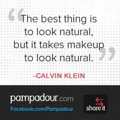 Calvin Klein #motto #naturalbeauty