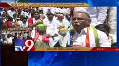 AP Congress dharna in Vijayawada against TS Irrigation projects