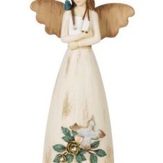 Pavilion Gift Company 41040 Simple Spirits Nurse Angel Figurine, 6-Inch