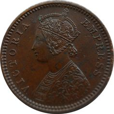 1888 1/12 One Twelve Anna British India Queen Victoria Empress - Worth Buy