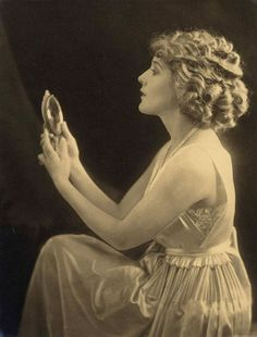 Mary Pickford } silent film icon