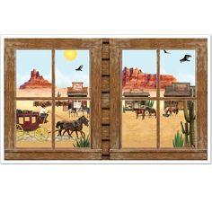 western window scene