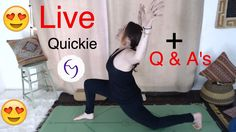 20 min quickie - Fightmaster Yoga Live Stream (Also Q & A's)