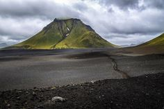 Because black sand deserts. | 25 Reasons Why You Should Peace Out And Go Photograph Icelandhttp://www.wallacetravelgroup.ie/holidays/iceland-holidays.189.html
