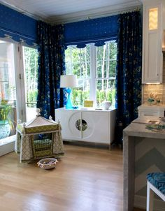 2015 Hampton Designer Showhouse kitchen designed by Marlaina Teich