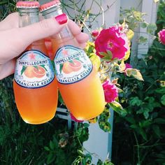 Sparkling and delicious Aranciata Rossa for two! Thanks @prepnorthwest for sharing via Instagram!