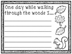 Spring Writing Prompts Worksheets   Early finishers