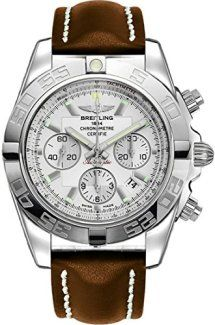 – With Manufacturer Serial Numbers- Silver Dial- Day / Date / Month Calendar Feature- Chronograph Feature- Moon Phase Feature- 42 Hour Power Reserve- Self Winding Automatic Movement- Breitlin… Dog Training Treats, Breitling Chronomat, Hiking Dogs, Authentic Watches, Cheap Online Shopping, Watch Model, Luxury Watches For Men, Watches Online, Chronograph