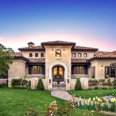15 sophisticated and classy mediterranean house designs - Exterior Home Design Styles