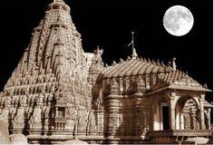 Beautifully Carved Jain Temple at Palitana, Gujarat