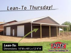 1000 images about buildings with lean tos on pinterest for Pole barn roof pitch