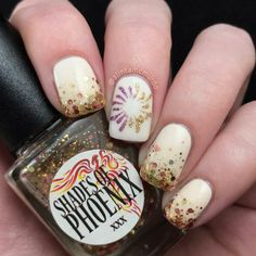 Glitter gradient and