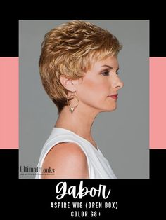 All over short layers blend into an expertly tapered, neck-hugging nape. #wigs #wigsmaker #wifglife #hairstyle #haircolor #hairstyles
