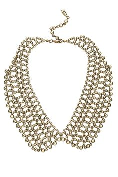 DIY? Peter Pan Bead Necklce - Necklaces - Jewelry - Accessories - Topshop USA