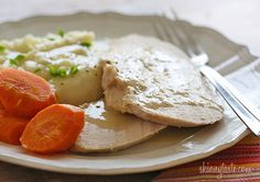 Crock Pot Turkey Breast with Gravy
