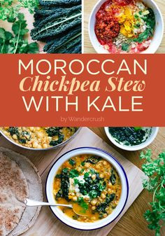 Moroccan Chickpea Stew With Kale | 7 Winter Dinners That Anyone Can Make