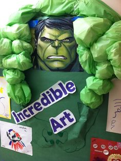 Incredible Hulk Board From My Classroom To Yours